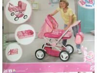 Toy Pram from the make Baby Born.