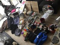 Large amount of mixed items suitable for a car boot sale / stock
