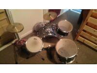 Half size drum kit