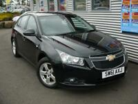CHEVROLET CRUZE 1.6 LT 5d AUTO **GENUINE LOW MILES** (black) 2012