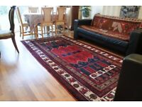 Antique Hand knotted Persian carpet from Kurdistan/Iran very beautiful and unique 300cm X 155cm