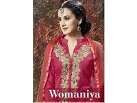 WOMANIYA WHOLESALE WESTERN DRESS MATERIAL