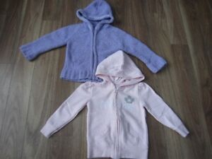 TODDLER GIRLS HOODY'S - SIZE 4T - $6.00 for BOTH