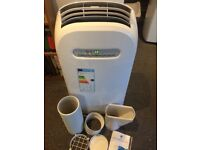 New portable air conditioner, air conditioning, air con unit with vent/remote etc