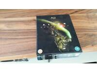 Alien Anthology Bluray dvds