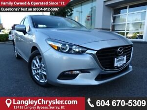 2017 Mazda Mazda3 GS w/HEATED STEERING & HEATED SEATS