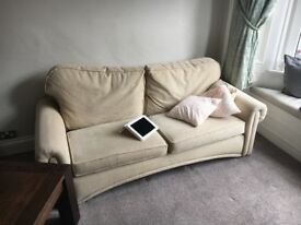 Set of two sofas will also sell individually
