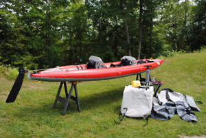 """AIRE Tandem Inflatable 18ft """"Sea Tiger"""" Kayak"""