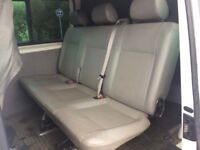 Volkswagen transporter t5 kombi seats (leather)