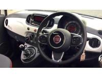 2017 Fiat 500 1.2 Pop 3dr Manual Petrol Hatchback