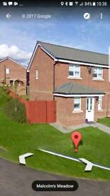Kirkcaldy Hollybrae corner plot 3 bed .. 2 bathroom offers over