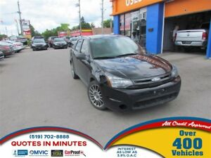 2010 Ford Focus SES   LEATHER   GREAT STARTER VEHICLE   SPORTY