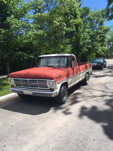 Swap/Trade 1969 Ford F-100