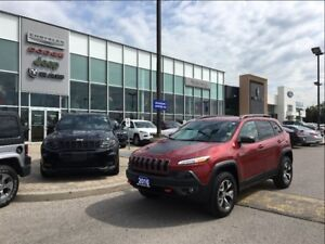 2017 Jeep Cherokee Trailhawk 4X4 NAV BACKUP CAMERA TRAILER TOW G