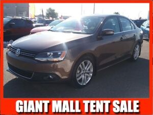 2014 VW Jetta TDI HIGHLINE **DIESEL-LEATHER-SUNROOF**