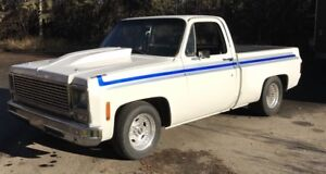 1978 Chevrolet C-10 Shortbox   500 hp BBC