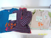 CHILDRENS CLOTHES, NEXT,FAT FACE,H&M,JOULES.M&S.BERLINGO,AGE 4-5 YEARS
