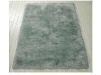 New Mint Green Rug Large, 230/160cm, Deep Super Soft touch pile, Was £130. Sell £60
