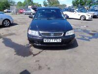 Honda Civic AUTOMATIC 1.6 ES 5 Door 1999(Vreg) miles 69300