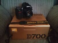 Nikon D700 + 50mm f1.8D Lens / BARGAIN FULL FRAME KIT / SWAP PX ?