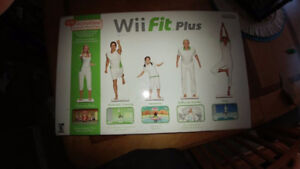 Wii Fit Plus new in box