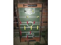Fuseball table as new game football