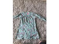 Joules Cotton Jersey Floral Dress