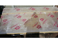 2 sheets 2400x1200x25mm Celotex PIR foil backed insulation sheets like Kingspan recticel ecotherm