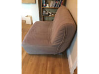Two seater sofa bed 120x90cm