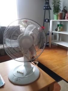 Table top fan