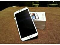 "Unlocked Samsung Galaxy Note 2 N7100 Android Quad Core phone 5.5"" 2GB RAM 16GB!"