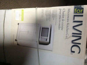 Microwave Cart Brand New in Box