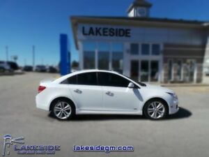 2015 Chevrolet Cruze LTZ  - one owner - ex-lease - non-smoker -