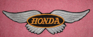 Vintage Honda sew on patch .