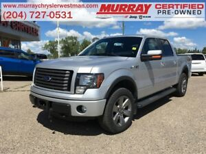 2012 Ford F-150 SuperCrew FX4 4WD 5.0L *Backup Camera*