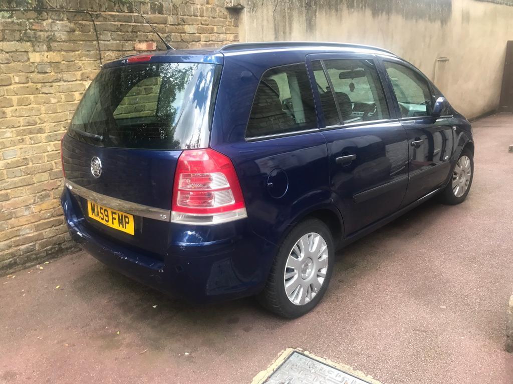 Vauxhall zafira life 1.6