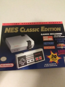 New in Box NES Classic Edition with 30 Games
