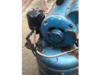 Broomwade compressor 3.2 hp 240v