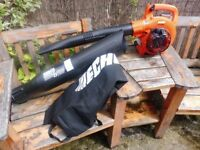 NEW ECHO LEAF BLOWER AND COLLECTOR