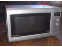PANASONIC NN-SD466M 27L 900W INVERTER MICROWAVE SILVER** FAULTY**