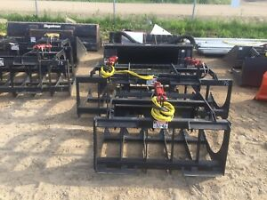 Sale, new heavy duty skid steer attachments