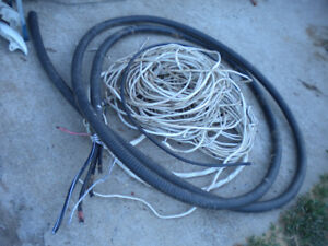 Small lot of electrical wire 14/3 14/2 Shielded tech cable