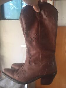 Cowboy boots (brown) from Nine West sz 7.5