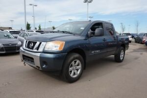 2014 Nissan Titan 4X4 CREWCAB SV Accident Free,  Back-up Cam,  B