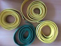 4 Official Taekwondo Belts