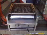 COMMERCIAL CHARCOAL BBQ GRILL CATERING MACHINE OUTDOORS CAFE DINER KITCHEN MEAT TAKEAWAY STEAK SHOP