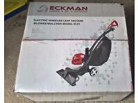 Eckman ELV1 Leaf Vacuum, Blower & Mulcher - Powerful 1600W- In Very Good Condition