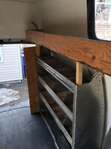 RACK/ SHELVE FOR CARGO VAN