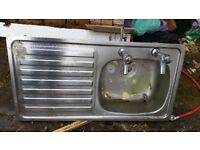 Used kitchen sink free to collect