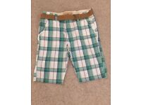 Zara boys cotton shorts age 11-12yrs